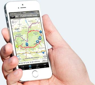 Mobile App Tatry Region